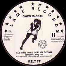 Gwen McCrae – All This Love That I'm Giving